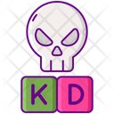 Kd Ratio Kill Death Ratio Percentage Icon