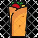 Fast Food Food Kebab Icon Icon