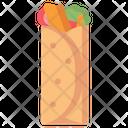 Kebab Food Indian Icon