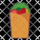 Kebab Food Shawarma Icon