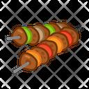 Kebab Food Meal Icon