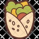 Kebab Food Delicious Icon