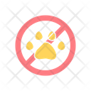 Keep Away From Animals Icon