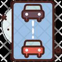 Keep Distance Maintain Distance Maintain Car Distance Icon