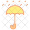 Keep Dry Umbrella Protection Icon