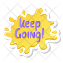 Keep Going Icon