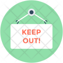Keep-out Icon
