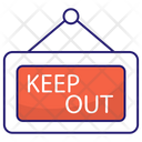 Keep Out Keep Out Icon