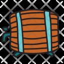 Keg Barrel Beer Icon
