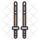 Kendo Swords Fencing Icon