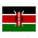 Kenya Flag Flags Icon