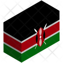 Flag Country Kenya Icon