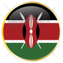 Kenya World Flag Icon