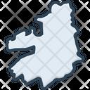Kerry Map Ireland Icon