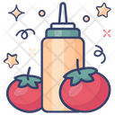 Ketchup Tomato Sauce Tomato Paste Icon