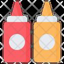 Ketchup Sauce Mustard Icon