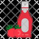 Ketchup Mustard Food Icon