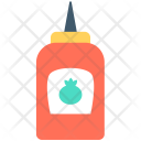 Ketchup Bottle Tomato Icon