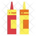 Ketchup Spicy Sauces Icon