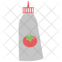 Ketchup Sauce Tomato Icon