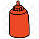 Ketchup Sauce Bottle Icon