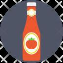 Ketchup Bottle Tomato Icon