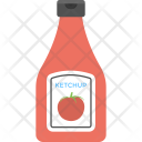 Ketchup Bottle Sauce Icon