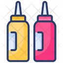 Bottle Ketchup Sauce Icon