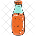 Ketchup Bottle Chilli Sauce Food Sauce Icon