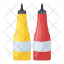 Ketchup Bottles Tomato Icon