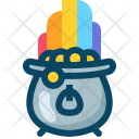 Kettle Kettledrum Rainbow Icon
