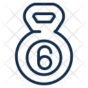 Kettle Bell Equipment Icon