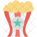 Kettle Corn Popcorn Icon