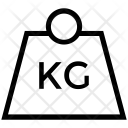 Kettle Bell Dumbbell Icon