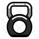 Kettlebell Weight Healthy Icon
