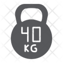 Kettlebell Sport Gym Icon