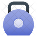 Kettle Bell Fitness Gym Icon