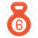 Kettle Bell Gym Icon