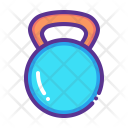 Kettlebell Weight Lift Icon