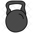 Kettlebell Fitness Tool Barbell Icon