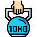 Kettlebell Weight Ball Weight Icon
