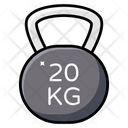 Weight Tool Kettlebell Powerlifting Icon