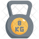 Kettlebell Gym Fitness Icon