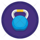 Kettlebell Weightlifting Bodybuilding Icon