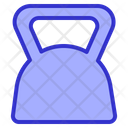 Kettlebell Weight Fitness Icon