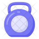 Kettlebell Weight Lifting Powerlifting Tool Icon