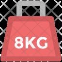 Kettlebell Dumbbell Kg Icon