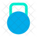 Gym Kettlebell Weight Icon