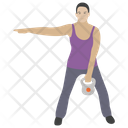 Kettlebell Workout Icon