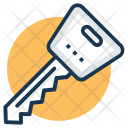 Key House Keychain Icon
